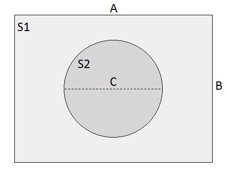 Два уровня круг